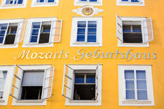 Birthplace of mozart Stock Images