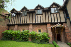 The birthplace of Shakespeare in England Stock Photo