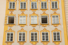 Birthplace of Wolfgang Amadeus Mozart (Salzburg) Stock Photography