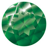 birthstone绿宝石可以 库存照片