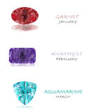 Birthstones Royalty Free Stock Photography