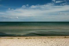 Biruchiy海岛安静 免版税库存图片