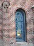 Palanga Birutes hill chapel window , Lithuania Stock Photography