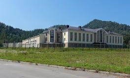 Biruzovaya Katun is een bijzondere economische zone van een toerist-recreatief type op het Altai-Grondgebied royalty-vrije stock foto