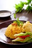 Biryani цыпленка стоковое изображение rf