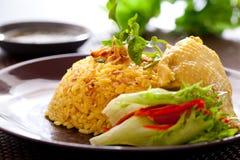 Biryani цыпленка стоковая фотография rf