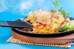 Biryani цыпленка стоковые фотографии rf