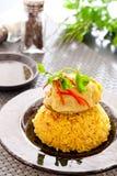 Biryani цыпленка стоковые фото