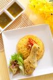 Biryani цыпленка стоковое фото rf