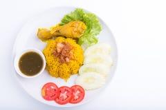 Biryani da galinha Imagens de Stock