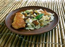 Biryani da galinha de Thalassery imagens de stock