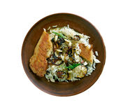 Biryani da galinha de Thalassery Fotos de Stock