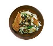 Biryani de poulet de Thalassery photos stock