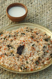 Biryani - An Indian rice dish with meat/vegetables Stock Photo