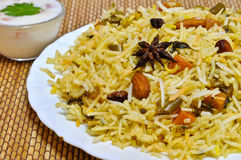 Biryani Rice Stock Photos