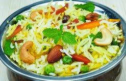 Biryani végétal Image stock