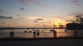 Birzebbuga, Malta stock fotografie