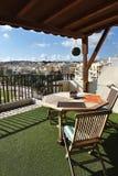 BIRZEBUGGA, Malta, panoramic view of village Stock Image