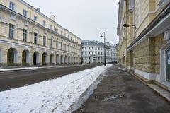 Birzhevoi-proezd stockbild