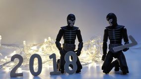 Bis 2017 überschreiten Stockfotografie