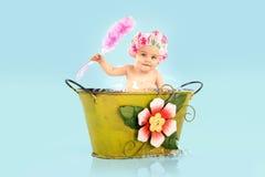 婴孩浴bis 库存照片