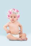 婴孩浴bis 免版税库存照片