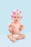 婴孩浴bis 免版税库存图片