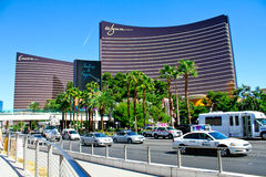 Bis i Wynn luksusowi hotele, Las Vegas, NV fotografia royalty free