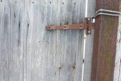 Bisagra de puerta Fotos de archivo