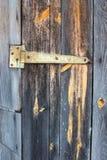 Bisagra de puerta Fotografía de archivo libre de regalías