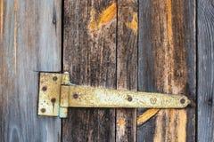 Bisagra de puerta Imagenes de archivo