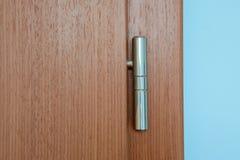 Bisagra de puerta de la astilla Fotos de archivo