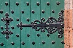 Bisagra de puerta del castillo Foto de archivo libre de regalías