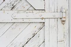 Bisagra de puerta vieja de granero Imágenes de archivo libres de regalías