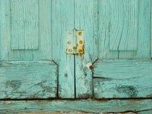 Bisagra oxidada Fotografía de archivo libre de regalías