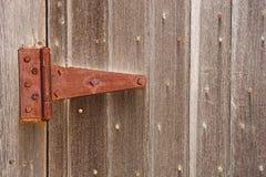 Bisagra oxidada Foto de archivo
