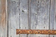 Bisagra oxidada Fotos de archivo