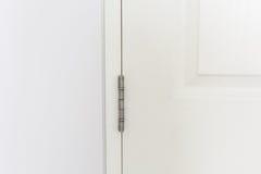 Bisagras de puerta inoxidables Fotografía de archivo libre de regalías