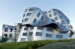 Bisarr arkitektur i Las Vegas Arkivbilder