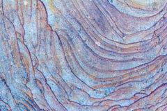Bisarra modeller p? stenskivan, bakgrund, stentextur arkivfoto