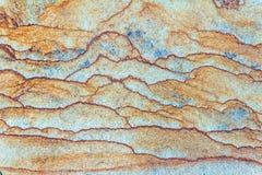 Bisarra modeller p? stenskivan, bakgrund, stentextur royaltyfria bilder