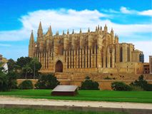 Bisbat de Mallorca, Roman Catholic Diocese of Majorca, Cathedral of St. Mary in Palma Majorca Royalty Free Stock Photo