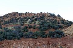 Bisbee铜矿 免版税库存图片