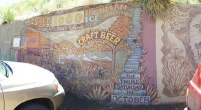 Bisbee,亚利桑那台阶攀登全景 库存图片