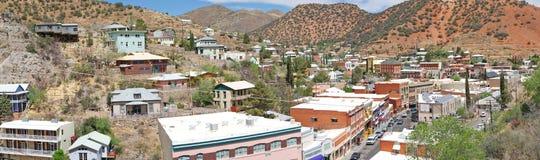 Bisbee,亚利桑那风景全景 免版税库存照片