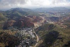 Bisbee, Arizona lizenzfreie stockfotos