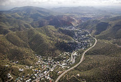 Bisbee Arizona Royaltyfria Foton