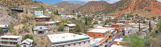 Bisbee, Arizona Landscape Panorama Royalty Free Stock Photos