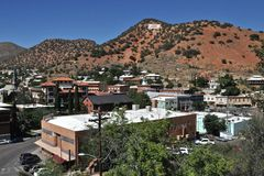 Bisbee Overlook Stock Photography