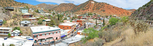 Bisbee, panorama da paisagem do Arizona Foto de Stock Royalty Free